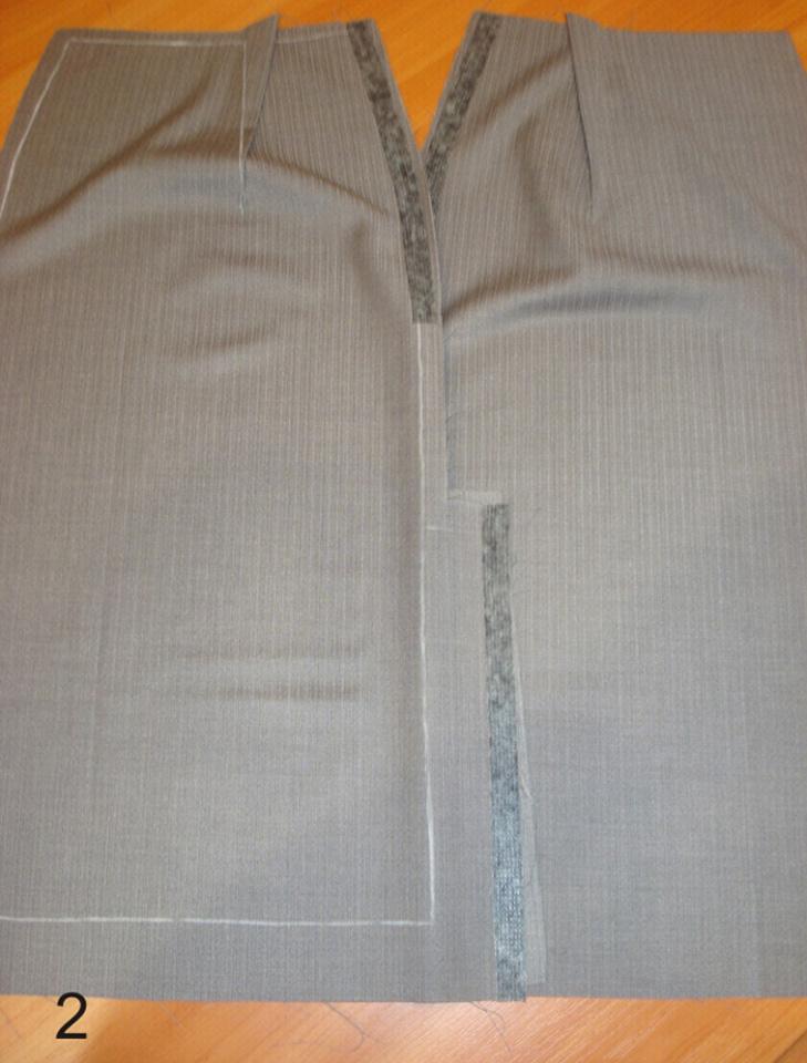 Как заутюживать швы на юбке
